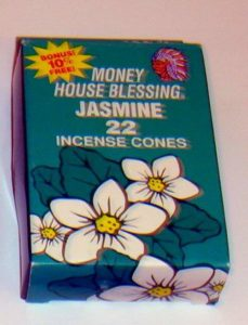 Money House Blessing Incense Cones Jasmine Flavor
