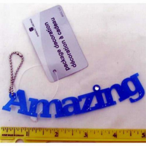 "American Greetings ""Amazing"" Gift Tag"