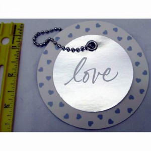 96 Wholesale American Greetings Love Circle Gift Tag