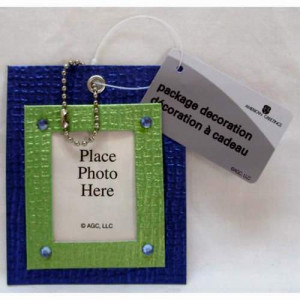 96 Wholesale American Greetings Photo Holder Gift Tags