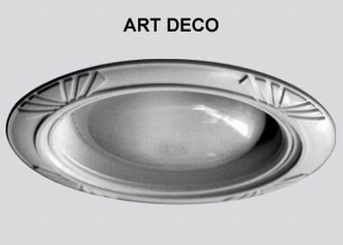 Buy Art Deco Style Decorative Replacement Wambaugh Trim For Recessed