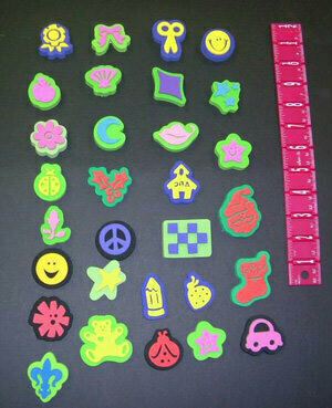 Assorted Individual Mini Chunky Stamps