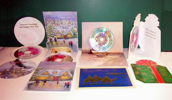 Buy assorted christmas greeting cards with 10 song misprint cd assorted christmas greeting cards with 10 song misprint cd included m4hsunfo