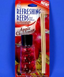 48 Per Case BSI Refreshing Reed Diffuser - Apple Cinnamon