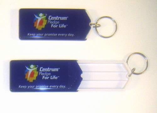 Centrum Travel Size Pill Holder Keychain