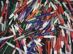 Special Misprint Plastic Retractable Pens