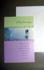 144 Per Case Anniversary Greeting Cards