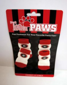 University of Georgia (Pack of 4) Dog Socks