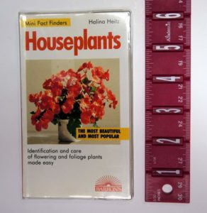 House Plants Mini Fact Finders Book
