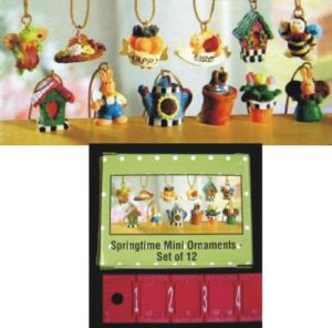 Springtime Mini Ornaments