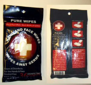 Pure Wipes to Fight Against the Flu
