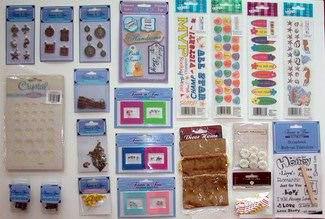 Buy Wholesale Lot of 100 Piece Craft & Scrapbooking Supply Assortment Cheap    H&J Liquidators and Closeouts, Inc