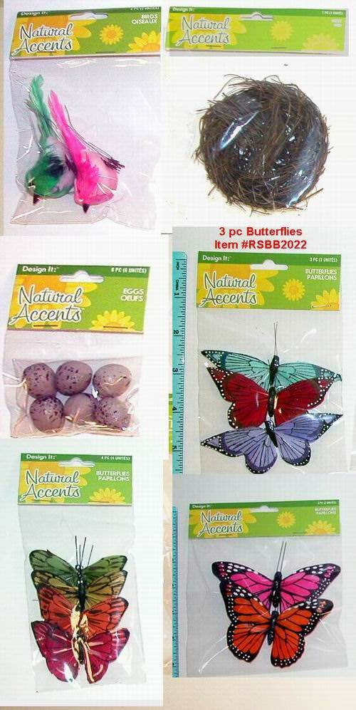 Buy wholesale assorted floracraft decorations 6 assorted for Craft supplies online cheap