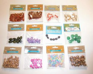 Assorted Craft Beads for Beading & Jewelry