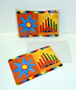 8-Pack Kwanzaa Greeting Cards with Envelopes