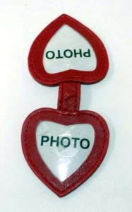 72 Per Case Sided Heart-Shaped Magnetic Photo Bookmark
