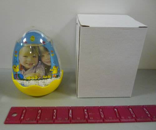 Buy Wholesale Egg Shaped Water Snow Globe Picture Frame Cheap | H&J ...