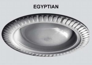 24 Per Case Egyptian Style Decorative Replacement Wambaugh Trim for Recessed Lighting