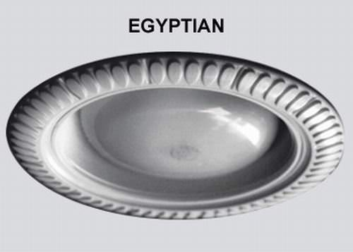 Egyptian Style Decorative Replacement Wambaugh Trim For Recessed Lighting