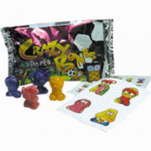 Exciting Crazy Bones Sports Game in a Foil Pack