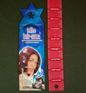 200 Per Case Toffee Hair-Sauna Hair Repair Gel
