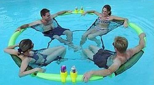 buy wholesale hula pool lounger fits 4 people cheap h j