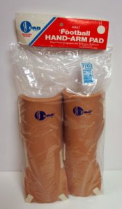 Wholesale Johnson & Johnson Adult Size J-Pad Football Hand-Arm Pads