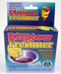 Lemon Scented Disposer Freshener
