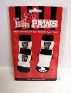 Licensed Texas Tech University (Pack of 4) Dog Socks