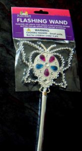Light-Up LED Princess Butterfly Flashing Wand