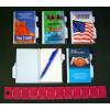 Misprint Plastic Cover Note Pad