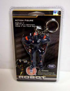 Syracuse Orangemen 3 Inch Fox Robot Sports Keychain