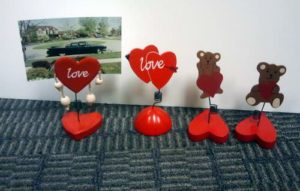 Love Themed Photo Picture Holder