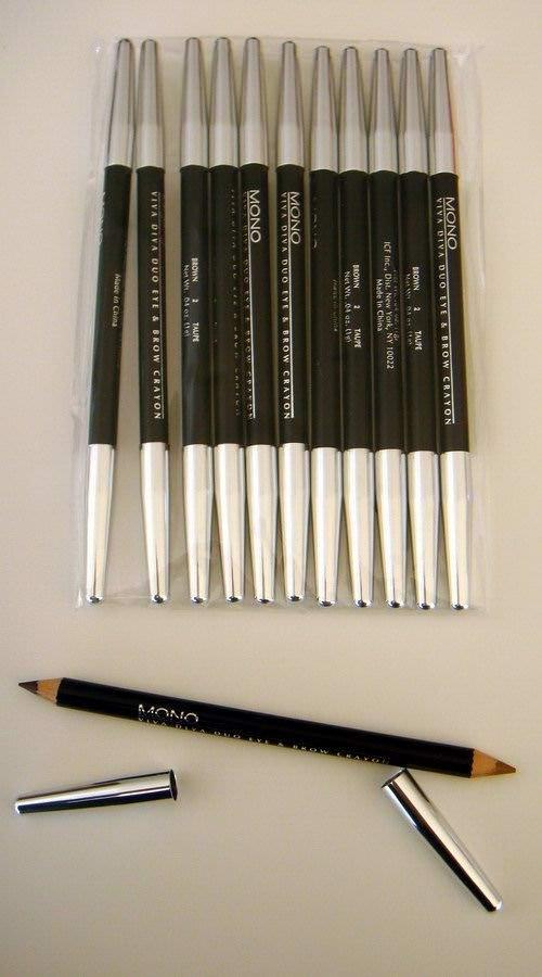 Wholesale COSMETICS - Madeleine Mono Viva Diva Duo Eye & Brow Crayon