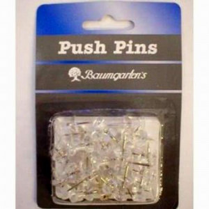Pack of 30 Push Pins