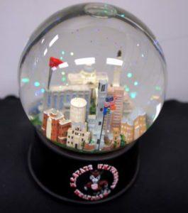 N.C. State University Musical Glass Waterglobe