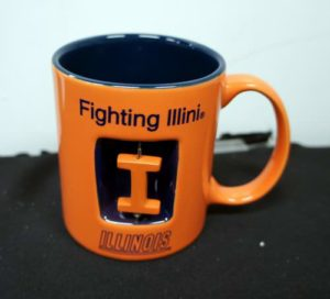 NCAA Officially Licensed University of Illinois 12 Oz. Spinner Mug