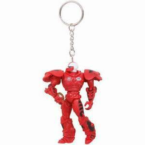 North Carolina State Wolfpack 3 Inch Fox Robot Sports Keychain