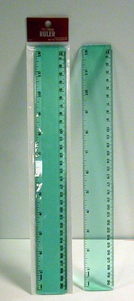 Buy Wholesale Acrylic Clear 12 Inch Ruler Cheap H Amp J