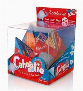 Republican Cahootie Foldable Trivia Game