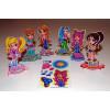 Assorted 3D Mini Cartoon Girl Puzzles