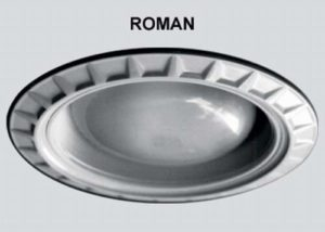 24 Per Case Roman Style Decorative Replacement Wambaugh Trim for Recessed Lighting