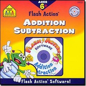 72 Per Case School Zone Flash Action AdditionSubtraction CD Rom Software