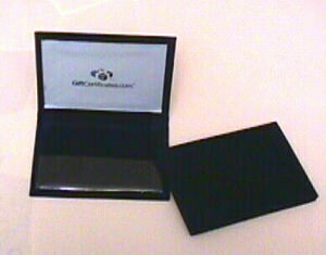 96 Per Case Small Velvet Gift Certificate Portfolios