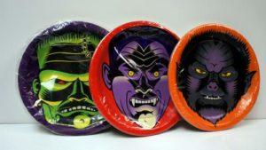 Halloween Monster Paper Plates