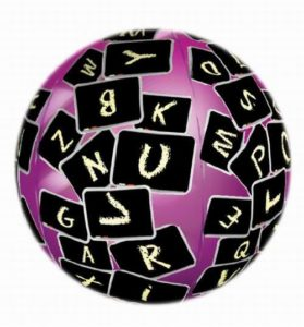 12 Per Case Toss-N-Talk Noun, Verb & Adjective Educational 24 Inch Inflatable Ball