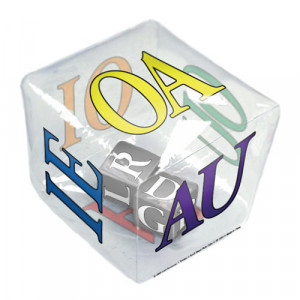 24 Per Case Tumble 'N Teach Educational Vowel Pairs Inflatable Cube