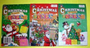 Assorted Children's Christmas Fun Pad Books
