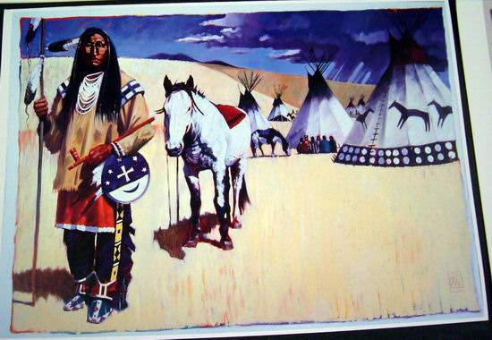 Assorted Indian Greeting Cards by Michael Cassidy