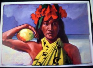 Assorted Tahitian Greeting Cards by Michael Cassidy